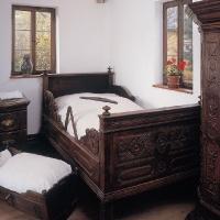 Schlafstube um 1800